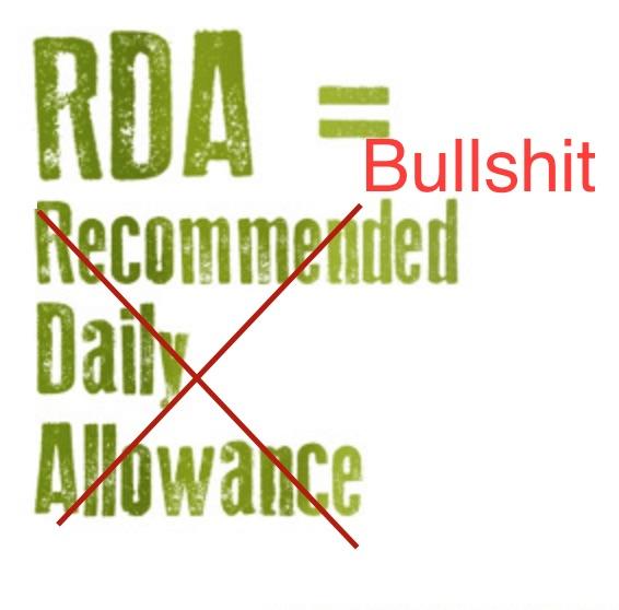 Rda-bullshit