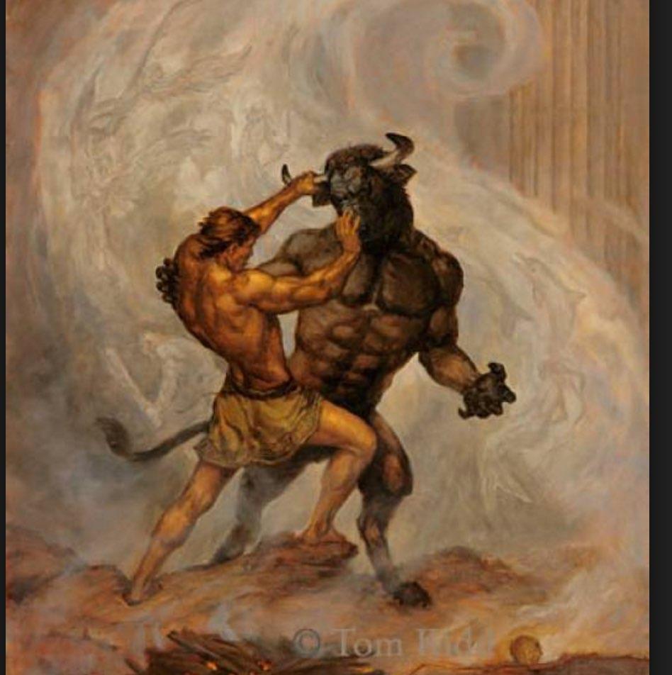 Theseus-Minotaur